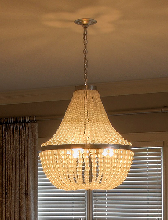 Currey Company Chanteuse Chandelier Detail